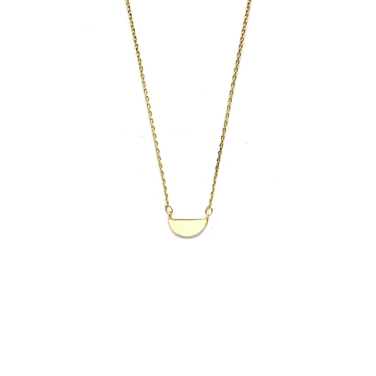 Fine Arc Gold Necklace
