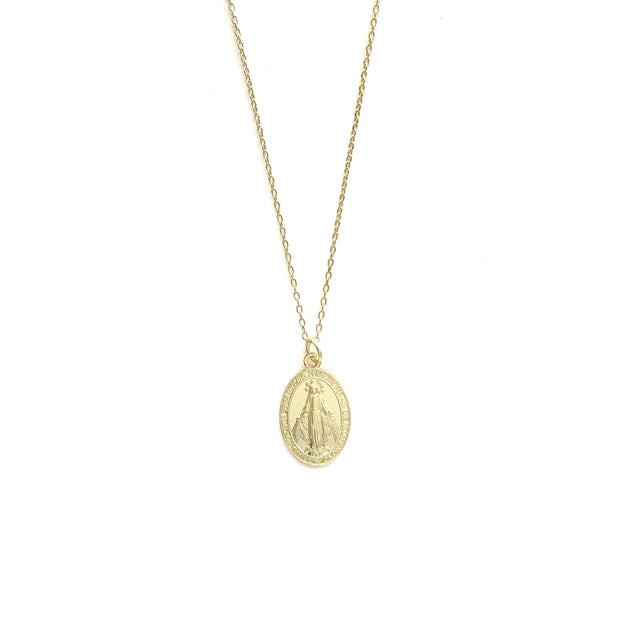 St Maria Gold Necklace