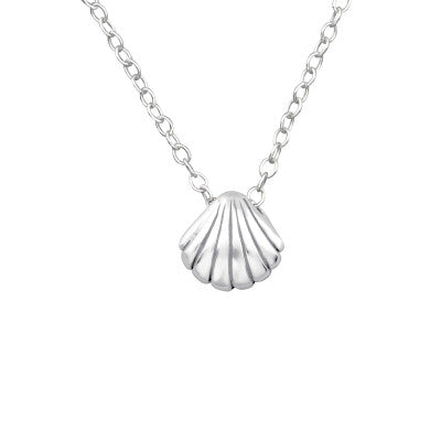 Little Shell Silver Necklace