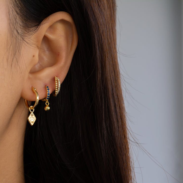 Devola Stylish Hoop Earrings