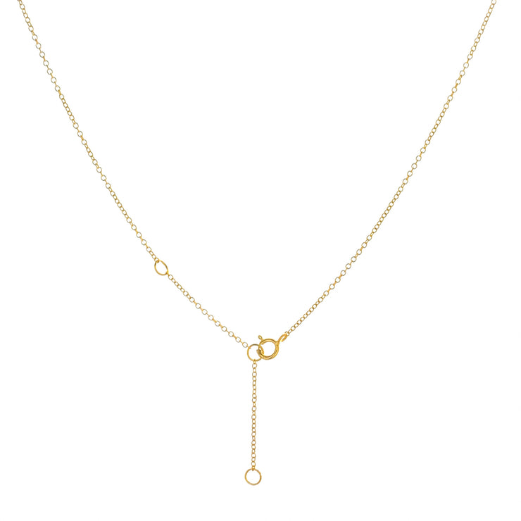 Disc Gold Choker Necklace