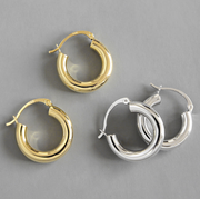 Stylish Hoop Minimalistic Big Hoop  Earrings