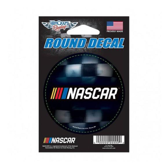 Nascar Monster Round Decal