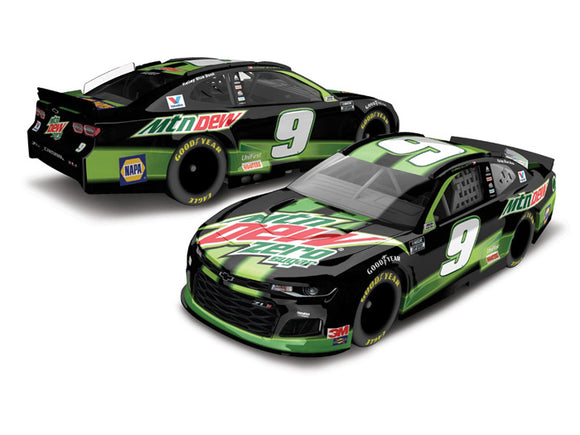 Chase Elliott Mt Dew Zero Sugar Diecast Car 1/64 Scale