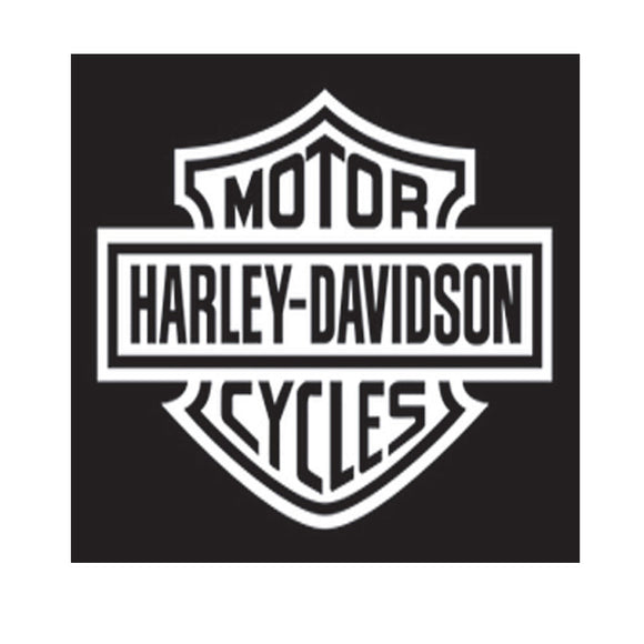 Harley-Davidson White Decal