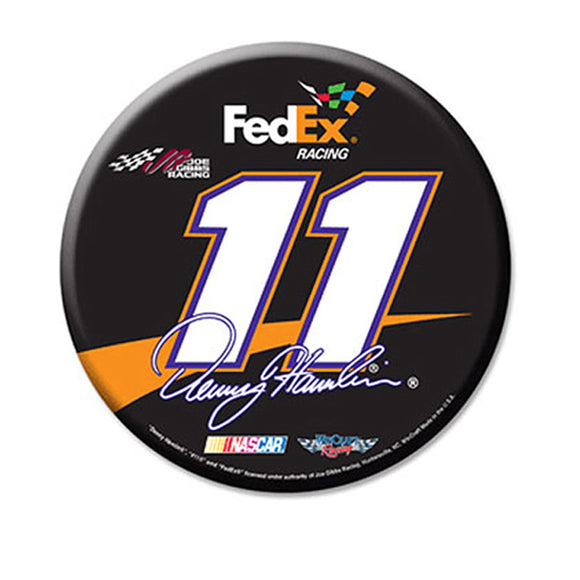 Denny Hamlin Domed Round Decal