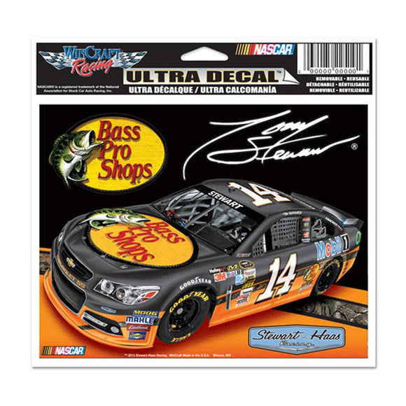 Tony Stewart Ultra Decal Pro Bass Shops