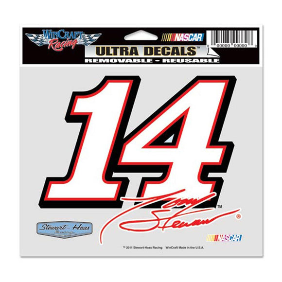 Tony Stewart Ultra Decal