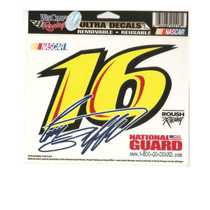 Gregg Biffle Ultra Decal