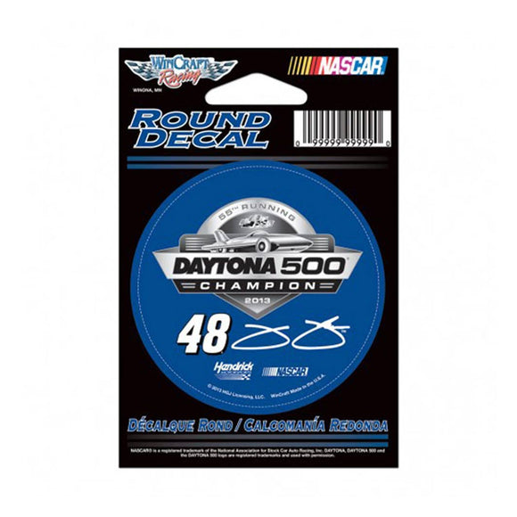 Jimmie Johnson Daytona 500 Decal