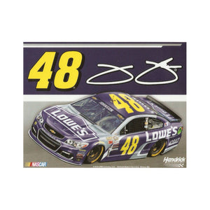 Jimmie Johnson Lowes Ultra Decal