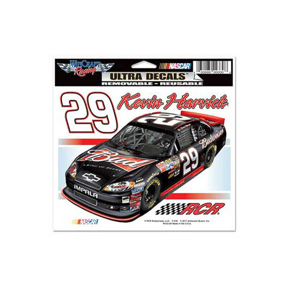 Kevin Harvick Bud Ultra Decal