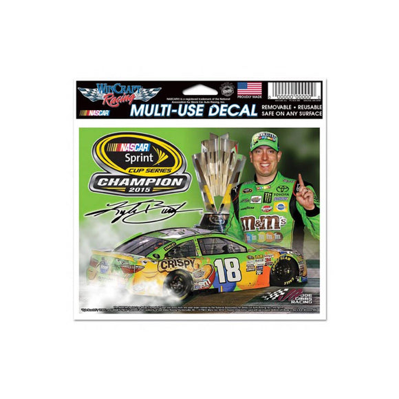 Kyle Busch Championship Ultra Decal