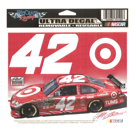 Juan Pablo Montoya Ultra Decal