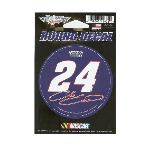 Chase Elliott Round Decals