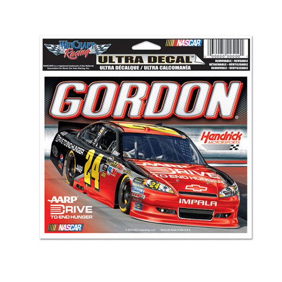 Jeff Gordon Ultra Decal Ride to End Hunger