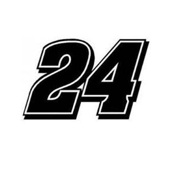 Jeff Gordon Vinyl Cut Decal