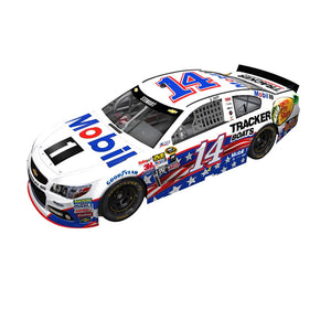 Tony Stewart Mobil One Salutes 1/24 Scale Diecast Car