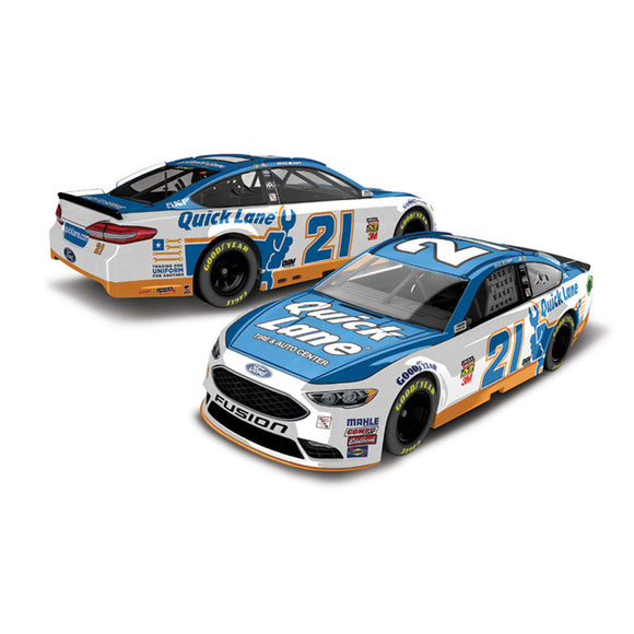 Ryan Blaney Quick Lane 1/64 Scale Diecast Car