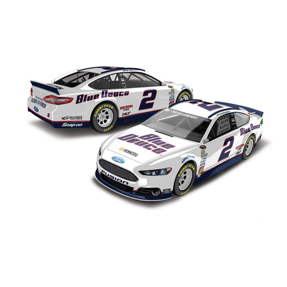 Brad Keselowski Blue Duce Youth Diecast Car