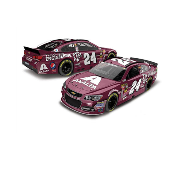 Jeff Gordon Texas A&M Axalta 1/64 Scale Diecast Car