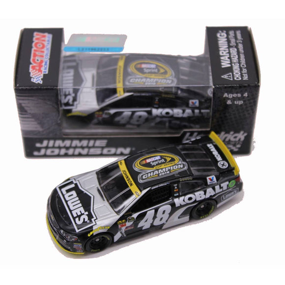Jimmie Johnson Kobalt 7X Championship 1/64 Scale Diecast Car