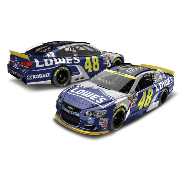 Jimmie Johnson lowes 7X Championship 1/64 Scale Diecast Car
