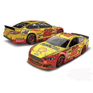 Joey Lagano Shell Pennzoil Daytona Win 1/64 Scale Diecast Car