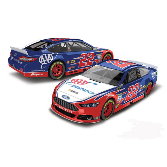 Joey Lagano AAA 1/64 Scale Diecast Car