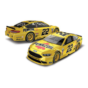 Joey Lagano Pensoil Fusion 1/64 Scale Diecast Car
