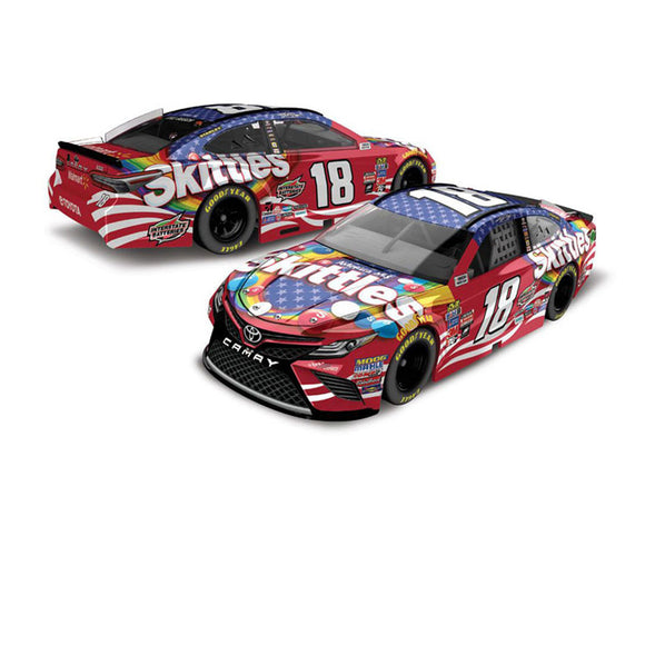 Kyle Busch Skittles Red 1/64 Scale Diecast Car