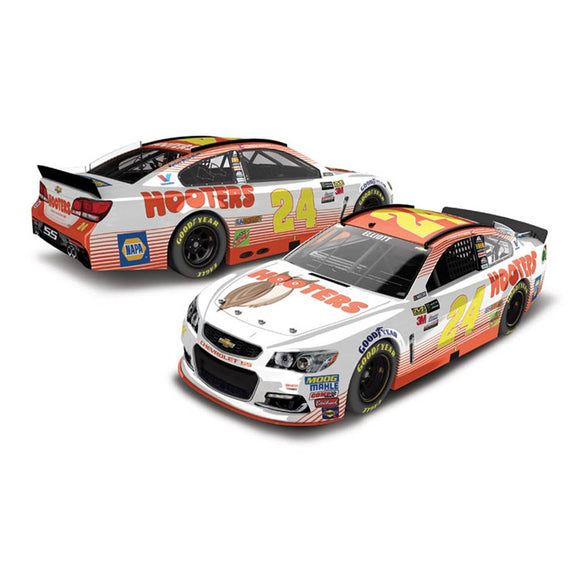 Chase Elliott Hooters 1/64 Scale Diecast Car