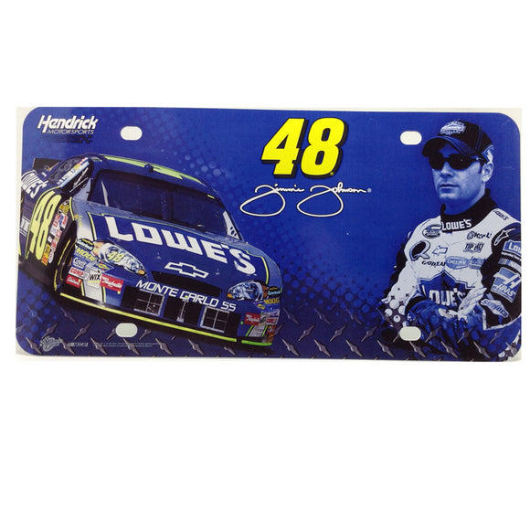 Jimmie Johnson Collector License Plate