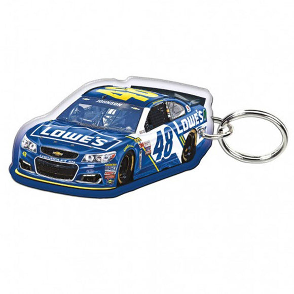 Jimmie Johnson Lowes Keychain