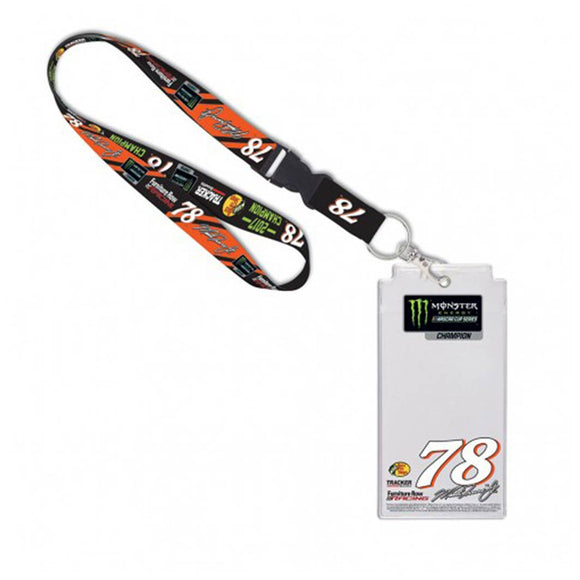 Martin Truex Jr Lanyard & Credential Holder