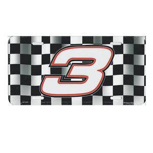 Austin Dillon Metal License Plate