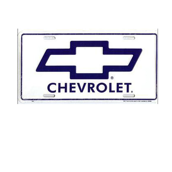 Chevy License Plate