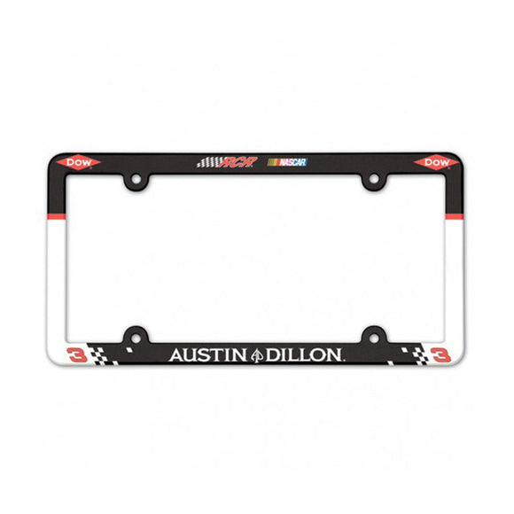 Austin Dillon License Plate Frame