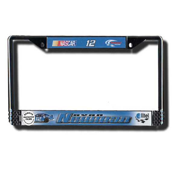Ryan Newman Metal License Plate Frame