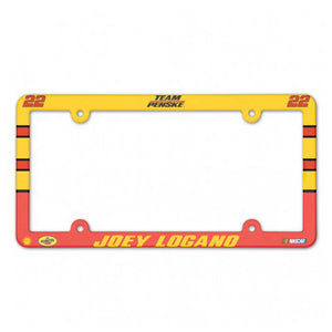 #22 Joey Logano Color License Plate Frame