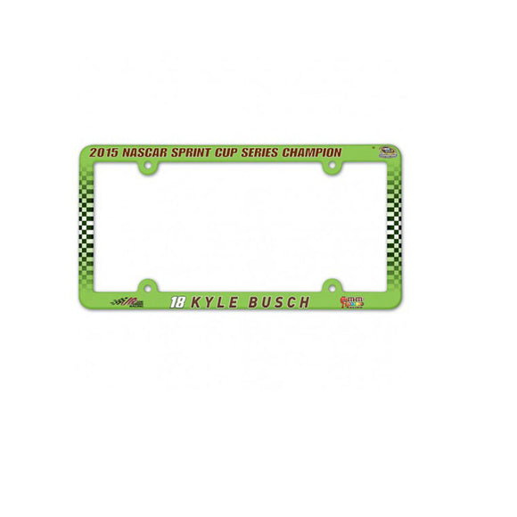 Kyle Busch Champsionship License Plate Frame