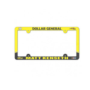 Matt Kenseth License Plate Frame