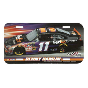 Denny Hamlin License Plate