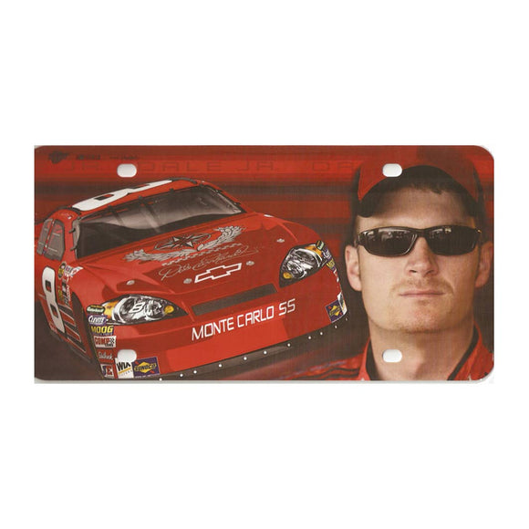Dale Earnhardt Jr Collector Series License Plate