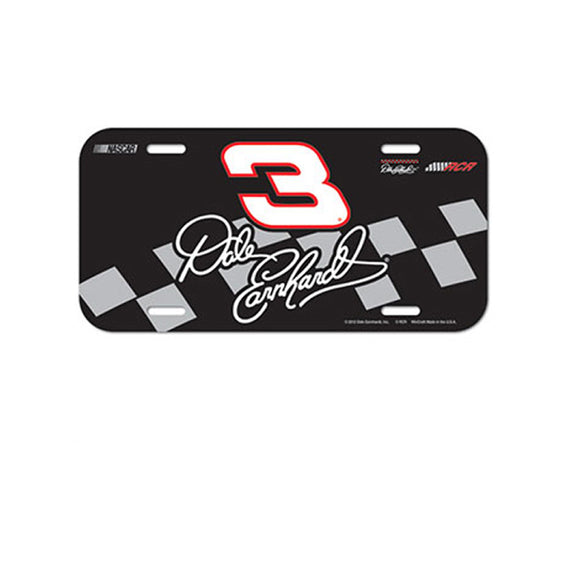 Dale Earnhardt Sr License Plate