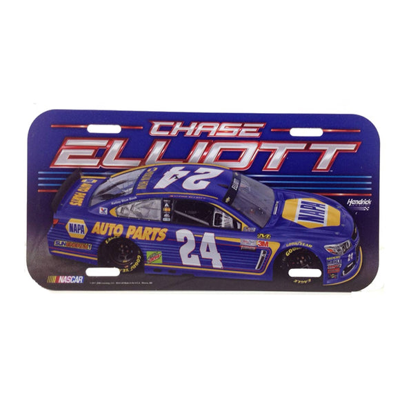 Chase Elliott License Plate