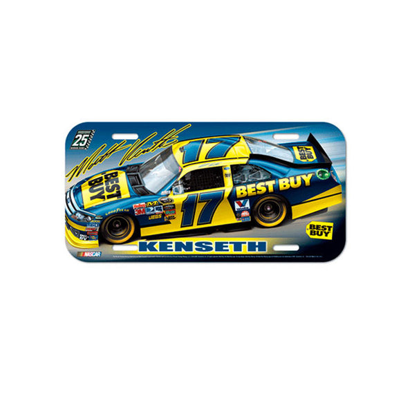 Matt Kenseth Best Buy License Plate