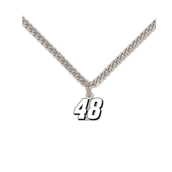 Jimmie Johnson Necklace With Pendant
