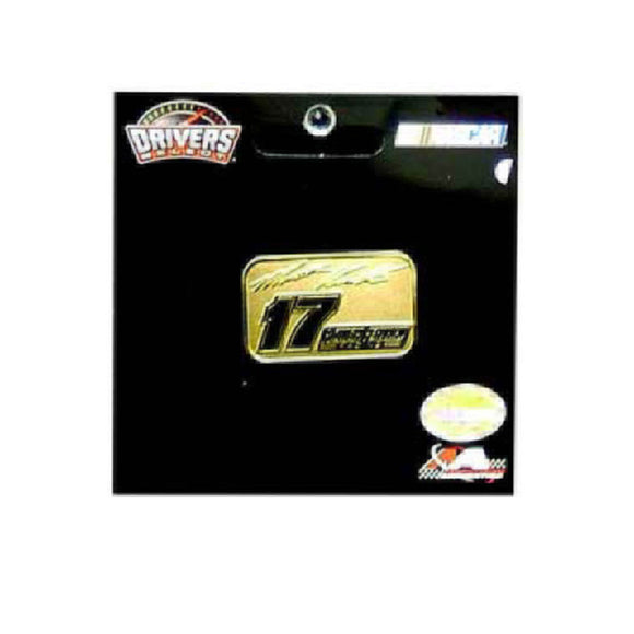 Matt Kenseth Hat Lapel Pin