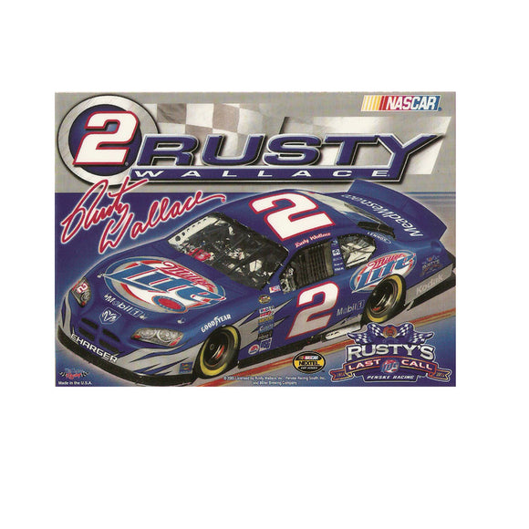 Rusty Wallace Ultra Decal